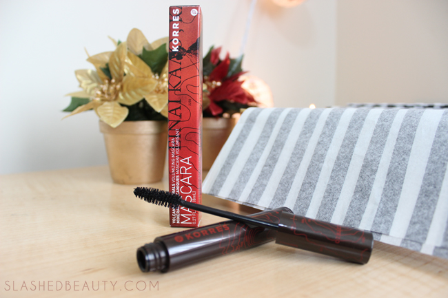 Review: 2014 Holiday Glossybox - Korres Volcanic Minerals Volumizing Mascara | Slashed Beauty