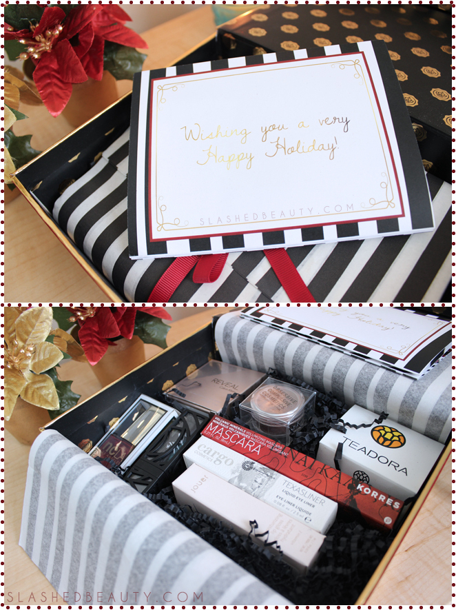 Review: 2014 Holiday Glossybox | Slashed Beauty