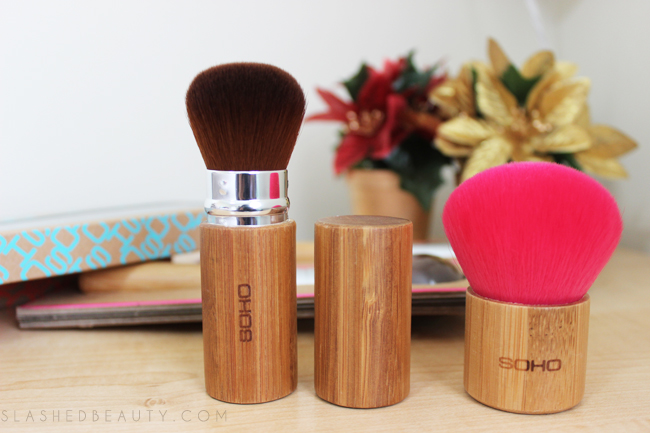Review: SOHO Naturals Makeup Brushes | Slashed Beauty