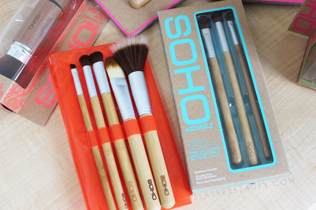Review: SOHO Naturals Makeup Brushes