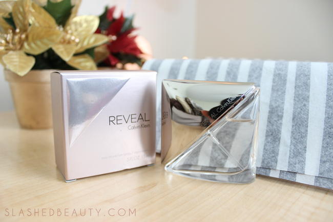 Review: 2014 Holiday Glossybox - Calvin Klein Reveal | Slashed Beauty
