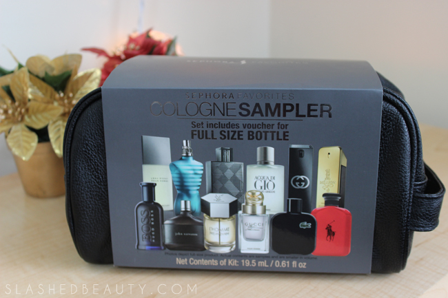 Gift for Him: Sephora Favorites Cologne Sampler | Slashed Beauty