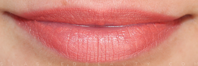 Review & Swatches: e.l.f. Studio Moisturizing Lipsticks: Blush | Slashed Beauty