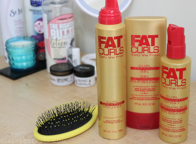 Review: Fat Curls Collection | Slashed Beauty