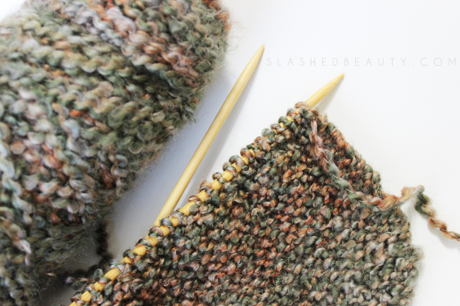 Winter Hobby: Knitting | Slashed Beauty