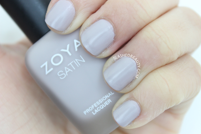 Swatches: Zoya Naturel Satins Collection - Leah | Slashed Beauty