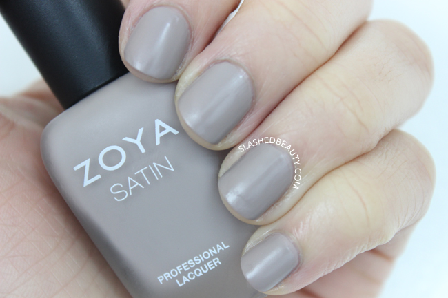 Swatches: Zoya Naturel Satins Collection - Rowan | Slashed Beauty