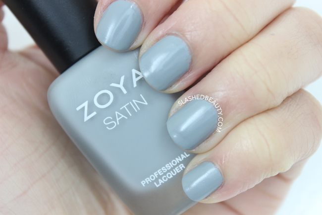Swatches: Zoya Naturel Satins Collection - Tove | Slashed Beauty