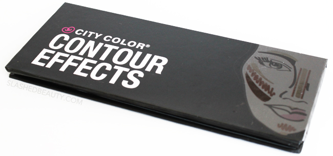 Review & Swatches: City Color Contour Effects Palette | Slashed Beauty