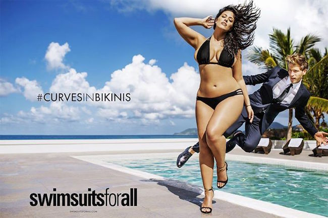 Ashley Graham: 1st Plus Size Woman to be Featured in Sports Illustrated Swimsuit Issue