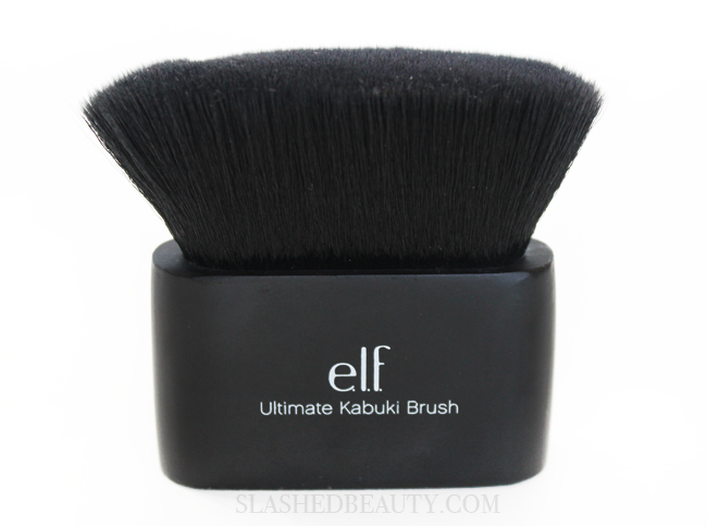 Review: e.l.f. Ultimate Kabuki Brush | Slashed Beauty