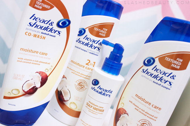 REVIEW: Head & Shoulders Moisture Care | Slashed Beauty