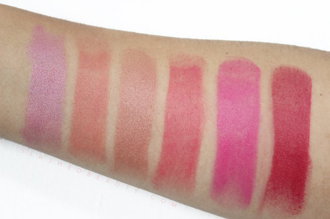 Review & Swatches: Jordana Color Tint Blush Sticks | Slashed Beauty