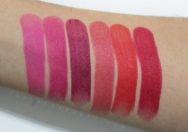 Review & Swatches: Jordana Modern Matte Lipsticks | Slashed Beauty