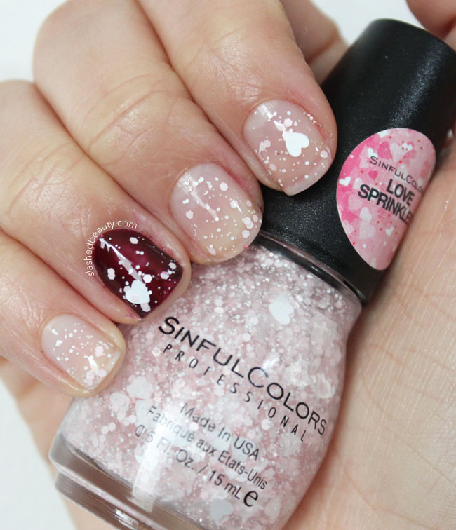 Sinful Colors Love Sprinkles Nail Polish Swatch | Slashed Beauty