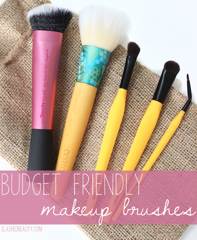 5 New Budget Friendly Makeup Brushes to Pick Up from Walmart | Slashed Beauty