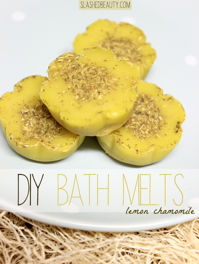 DIY Bath Melts Tutorial | Slashed Beauty
