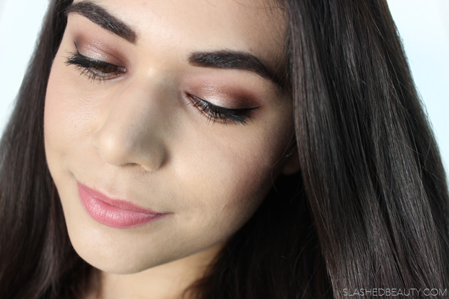 Halo Eye with Ulta Rose Gold Palette Tutorial | Slashed Beauty