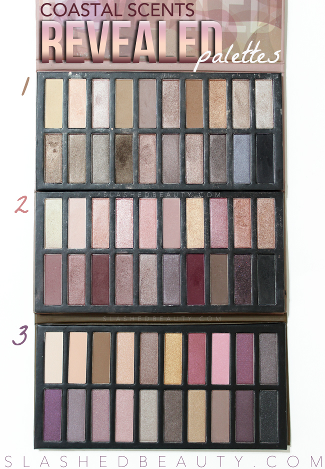Coastal Scents Revealed Palettes on Sale
