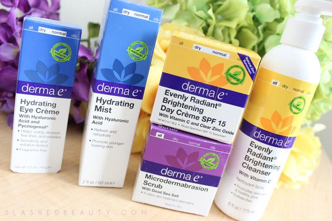 Eco-Friendly Brand Spotlight: derma e   Slashed Beauty