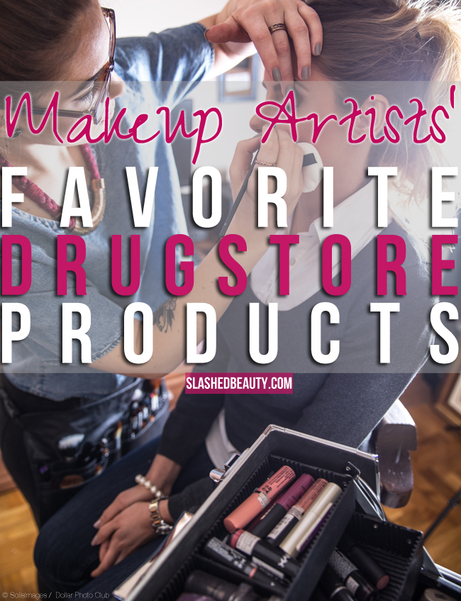 Makeup Artists' Favorite Drugstore Products | Slashed Beauty