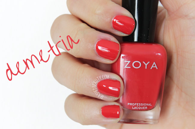 Swatches: Zoya Island Fun Collection Summer 2015 - Demetria