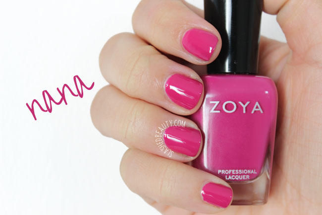 Swatches: Zoya Island Fun Collection Summer 2015 - Nana
