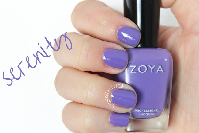 Swatches: Zoya Island Fun Collection Summer 2015 - Serenity