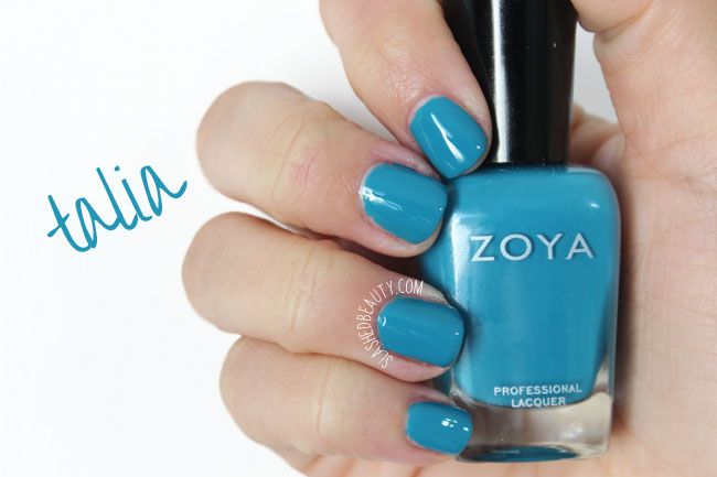 Swatches: Zoya Island Fun Collection Summer 2015 - Talia