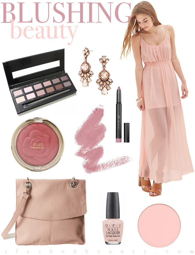 Mood Board: Blushing Beauty | Slashed Beauty