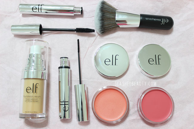 Review: e.l.f. Beautifully Bare Collection | Slashed Beauty