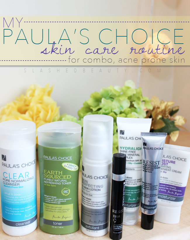 My Paula's Choice Skin Care Routine | Slashed Beauty