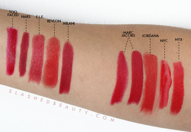 Bending the Budget: Red Lipstick | Slashed Beauty