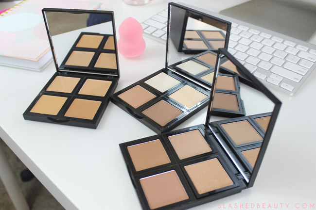 Review & Swatches: New e.l.f. Studio Face Palettes | Slashed Beauty