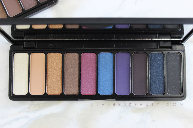 REVIEW and SWATCHES: e.l.f. Studio Eyeshadow Palettes | Slashed Beauty
