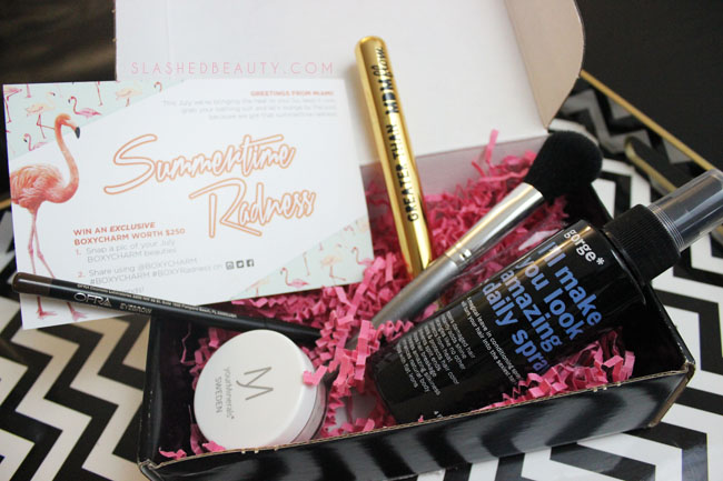 July 2015 Boxycharm Review | Slashed Beauty