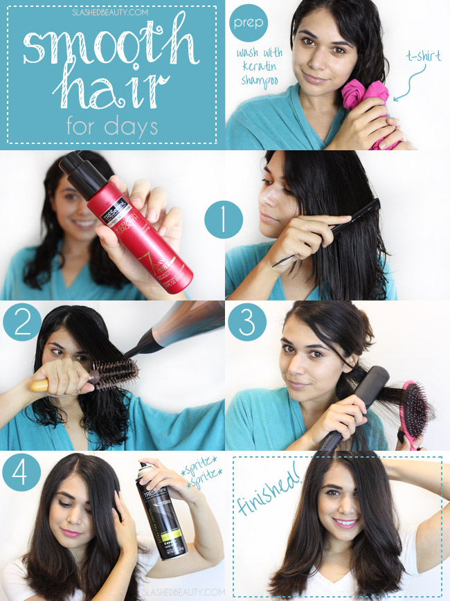 How to Get Smooth Hair for Days | Slashed Beauty