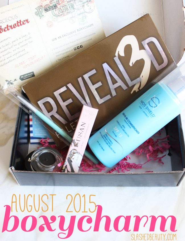 August 2015 Boxycharm Review   Slashed Beauty