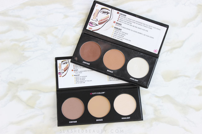 Review: City Color Contour Effects 2 Palette | Slashed Beauty