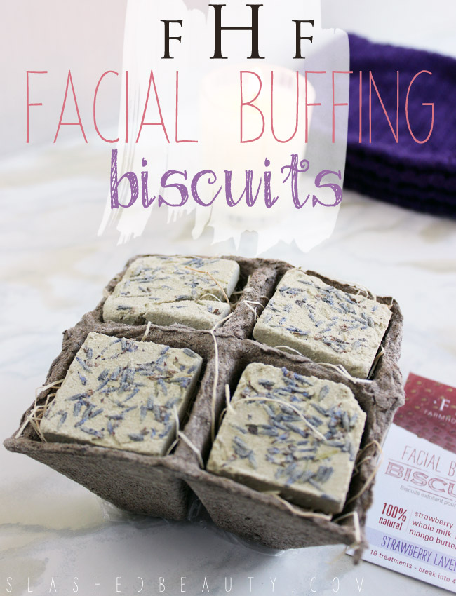 REVIEW: FarmHouse Fresh Facial Buffing Biscuits | Slashed Beauty