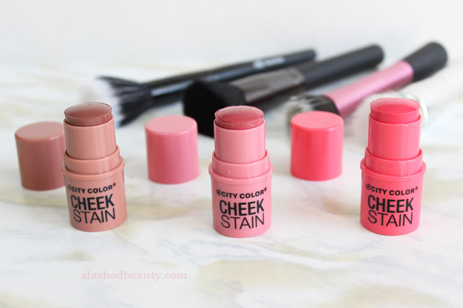 REVIEW: City Color Cosmetics Cheek Stains | Slashed Beauty