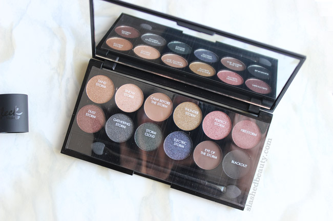 Sleek MakeUp iDivine Storm Palette - Click through to see swatches & read the review!   Slashed Beauty
