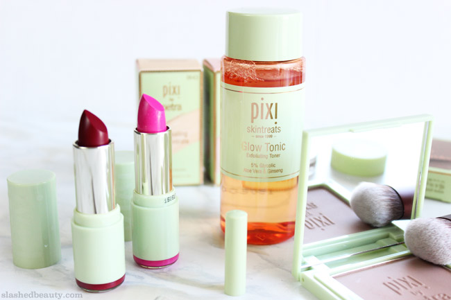 The 2015 Pixi Beauty fall releases are perfect for mastering the essentials of your makeup routine this season. Click through to take a closer look at the new products! | Slashed Beauty