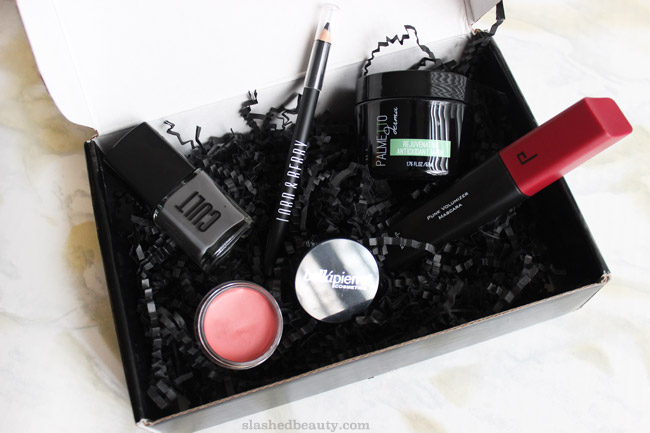 See what's inside the October 2015 Boxycharm, which has a Faces of the Moon theme. We got a lot of expensive goodies this month, take a peek! | Slashed Beauty