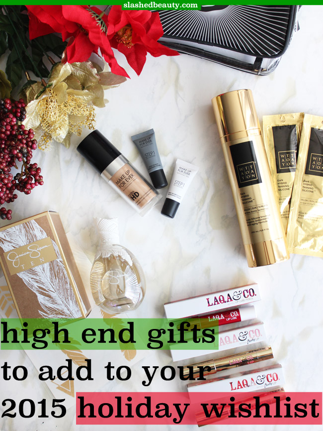 Take advantage of the gifting season to start exploring fancier beauty products than you normally wear. Click through to discover four high end beauty gifts you should add to your holiday wishlist!