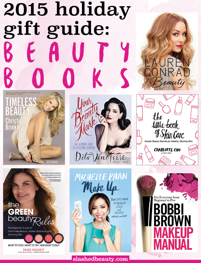 It can be hard to shop for beauty lovers, since we're all so picky with what we let into our makeup collection. Instead, pick up one of these beauty books as a holiday gift! Click through for book descriptions and links.