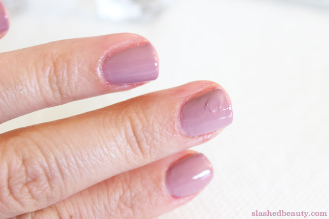I gave up on manicures until I discovered the Londontown Instant Smudge Fix, which literally erases any smudges that happen to your manicures while wet! Click through to see the before & after.