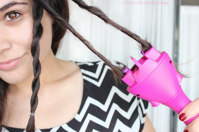 Jump on the hottest hair trend easier than ever with the Conair Quick Twist. Click through to see how I use it to add twists into my every day hairstyles.