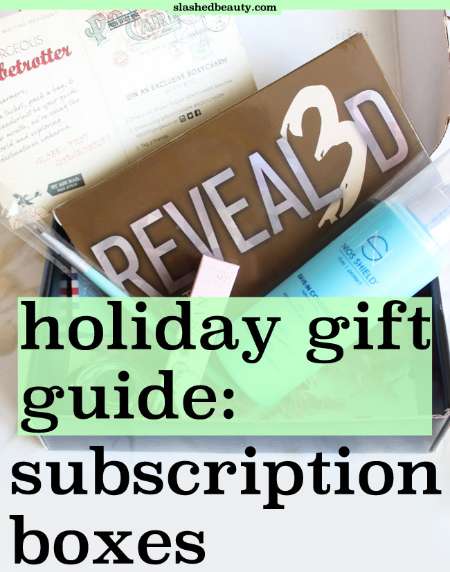 Subscription boxes are the gifts that keep on giving. Click through for a comparison of the best subscriptions to gift this holiday season.