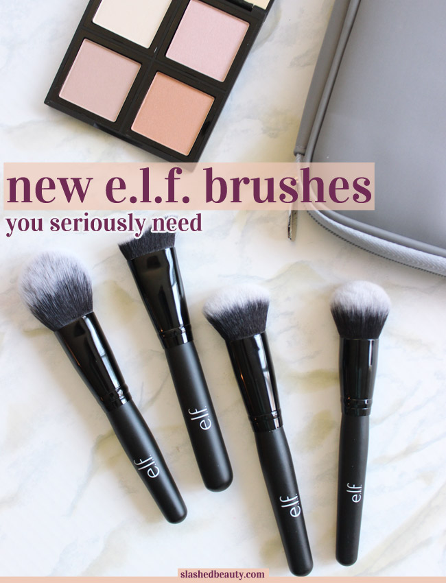 New Affordable Makeup Brushes From E.l.f. You Need